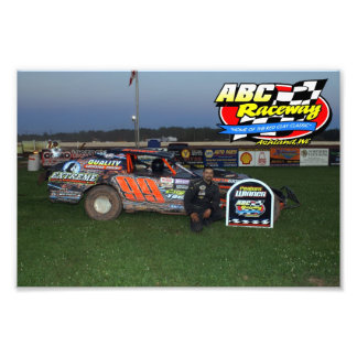 ABC Raceway feature winner Photographic Print