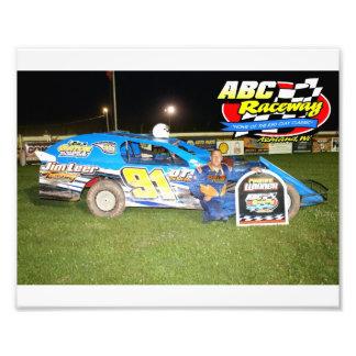 ABC Raceway feature winner Art Photo