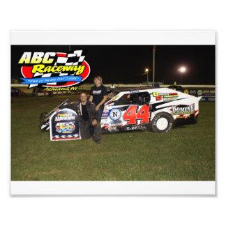 abc raceway photographic print