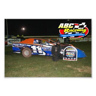 abc raceway photo art