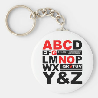 ABC SONG KEY CHAINS