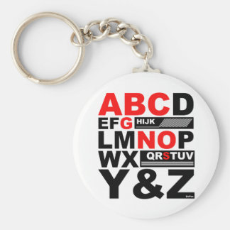 ABC SONG KEYCHAINS