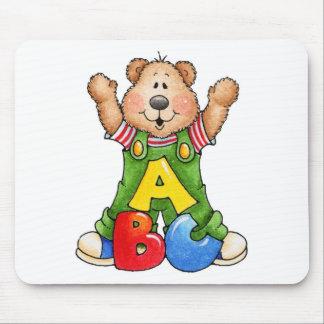 ABC Teddy Bear Mouse Pad
