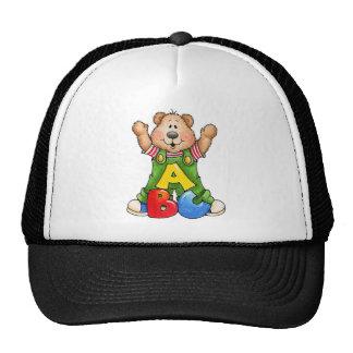 ABC Teddy Bear Trucker Hat