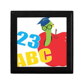 ABC Worm Jewelry Box