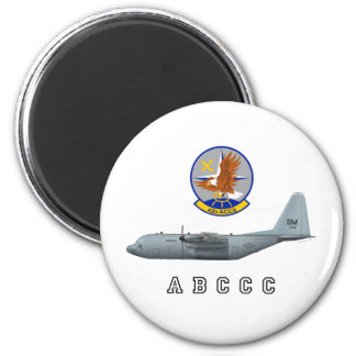 ABCCC 42nd ACCS 2 Inch Round Magnet