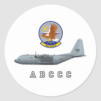 ABCCC 42nd ACCS Classic Round Sticker