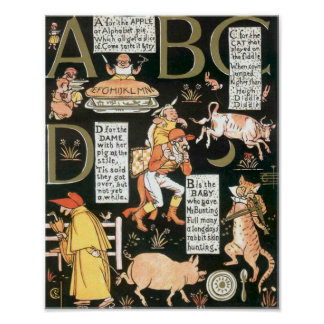 ABCD absurdo Posters