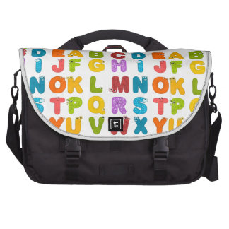 ABCD Alphabetical Design Products Computer Bag