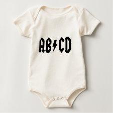 ABCD Baby T-Shirt shirt