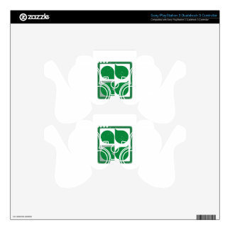 ABCD DECAL FOR PS3 CONTROLLER