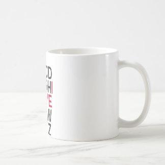 ABCD I Love U Coffee Mug