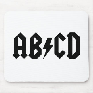 ABCD Item Mouse Pad