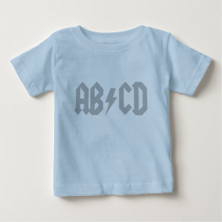 ABCD Lightning Bolt Baby T-Shirt