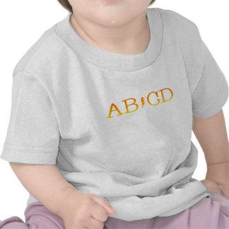 abcd tee shirt