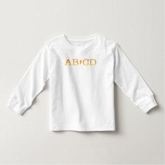 abcd toddler t-shirt