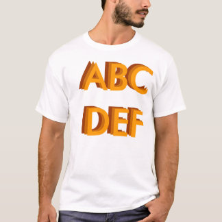 ABCDEF TEE