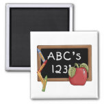 Abcs 123s Tshirts and Gifts Magnets
