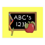 Abcs 123s Tshirts and Gifts Post Card