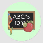 Abcs 123s Tshirts and Gifts Stickers