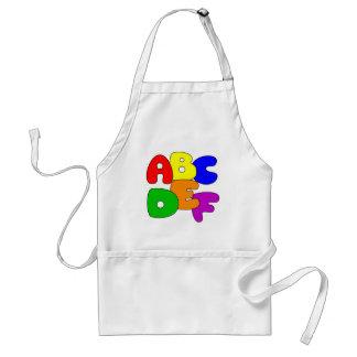 ABC's Adult Apron