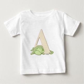 ABCs - camiseta del chica del cocodrilo Remera