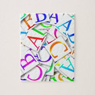 ABCs colorido Rompecabezas