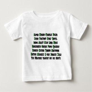 ABCs Military Baby T-Shirt