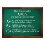 ABC's of Chiropractic Print
