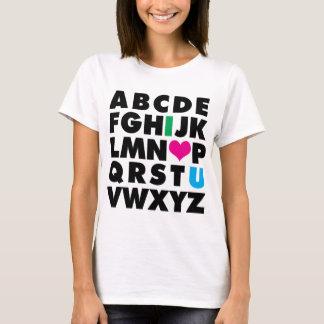 ABC's of Love T-Shirt