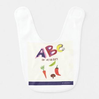 ABC's of Veggies Bib
