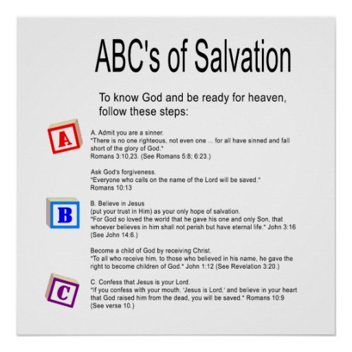 reflection paper of salvation Reflections on salvation and justification  1щthis paper was ˜rst  prepared for an informal meeting of catholic and evangelical scholars held.