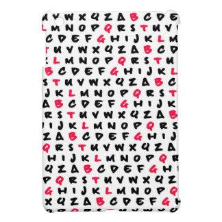 Abc's white iPad mini cover