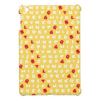 Abc's yellow iPad mini cover
