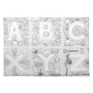 ABCXYZ Connectibles Placemat