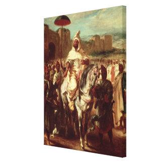 Abd Ar-Rahman  Sultan of Morocco Canvas Print