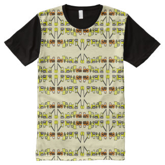 ABDL construction all over/ Baby4Life Construction All-Over-Print Shirt