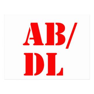 abdl post card