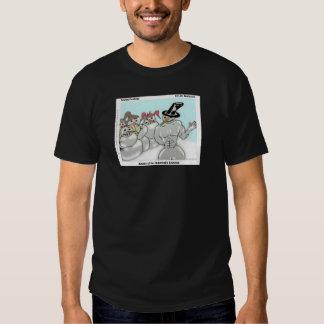 Abdominable Snowman Black T-Shirt