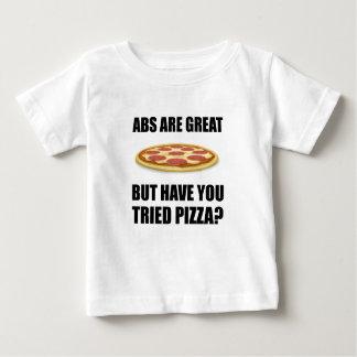 Abdominals Pizza Baby T-Shirt