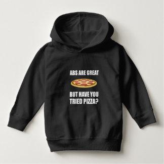 Abdominals Pizza Hoodie