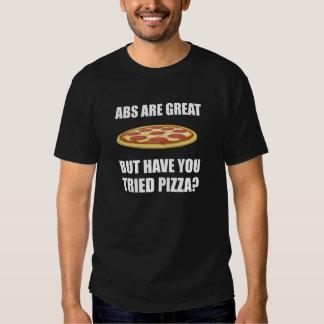 Abdominals Pizza T-Shirt