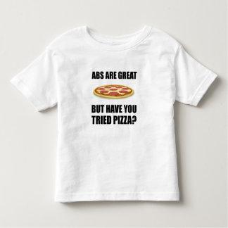 Abdominals Pizza Toddler T-shirt