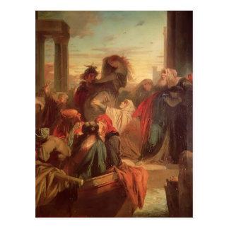 Abducción de Gustavo Moreau- de la mujer veneciana Postales