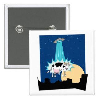 Abducción de la vaca del UFO Pins