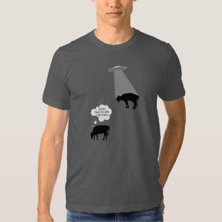 Abducción de la vaca remera