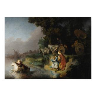 Abducción del Europa de Rembrandt Invitaciones Personales