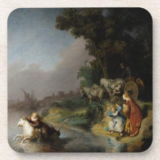 Abducción del Europa de Rembrandt Posavasos De Bebidas