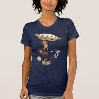 Abducciones 2 de la vaca camiseta