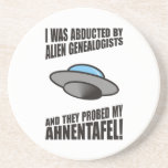 Abducted By Alien Genealogists Coasters